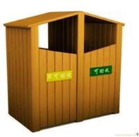 防腐木垃圾桶/上海防腐木垃圾桶