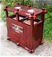 浦东防腐木垃圾桶/防腐木垃圾桶