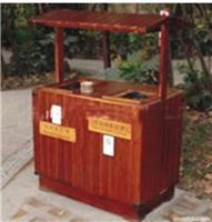 上海防腐木垃圾桶/上海防腐木厂