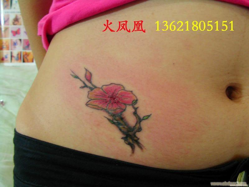 盖疤纹身-上海腰部纹身