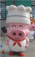 上海雕塑 | 玻璃钢烤漆雕塑|麦兜雕塑|卡通雕塑