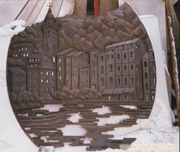 上海锻铜雕塑 | 锻铜浮雕