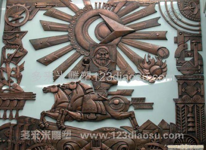 上海雕塑 | 锻铜雕塑公司