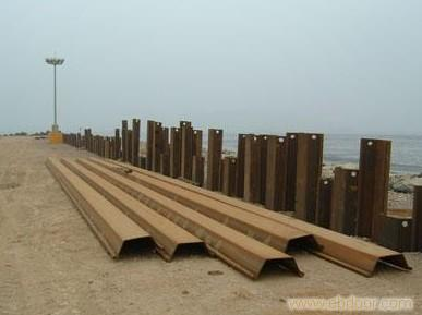 钢板桩租赁公司/钢板桩租赁价格