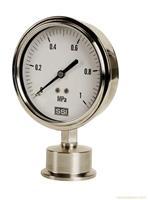 卡箍连接隔膜压力表