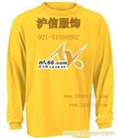 上海广告衫、T恤衫、圆领衫订做/定做 上海服装定做 上海促销服饰订做