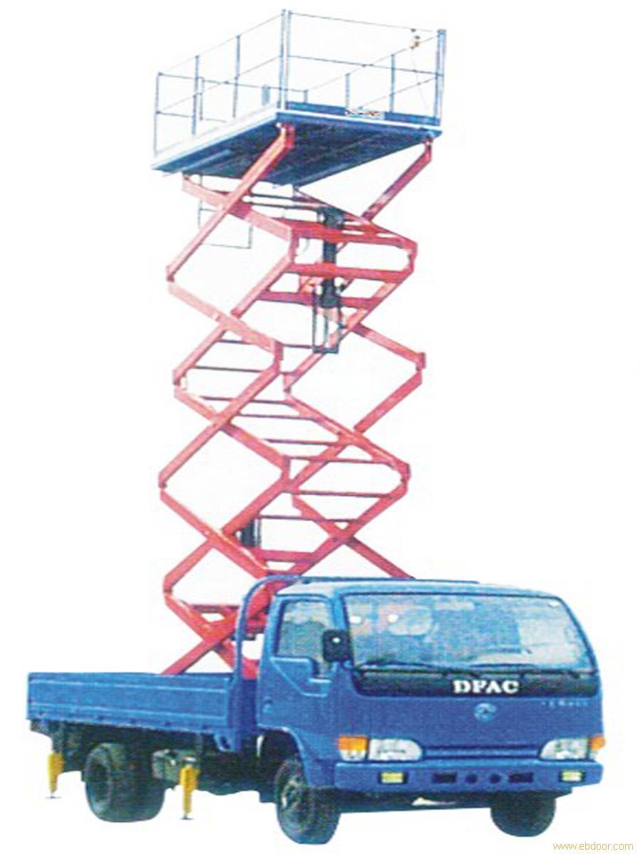 上海车载式液压升降台,上海车载式液压升降台价格图片