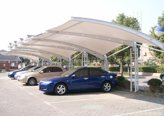 车棚 公交车棚 自行车棚 汽车棚 玻璃雨棚 钢结构车棚