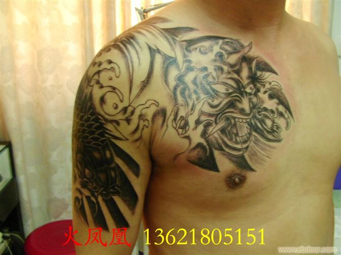 上海火凤凰纹身店_上海纹身吧