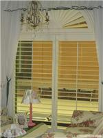 上海桑兰蒂实木异型百叶窗