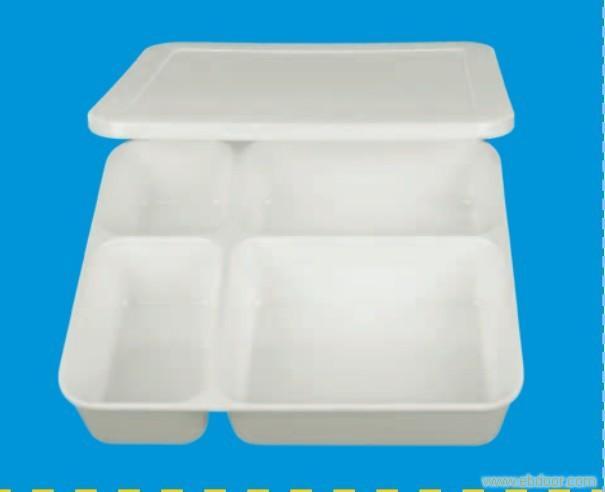 216.3-2四格快餐盒23.8X20.8X1.0
