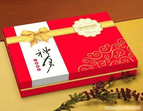 石家庄月饼包装盒展开图_相关