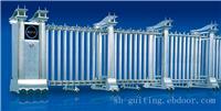 钢铁长城:上海电动伸缩门制作/订购上海电动伸缩门