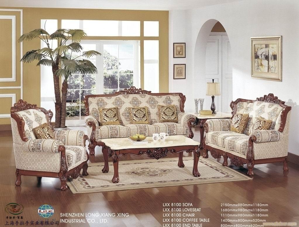 欧式软包沙发