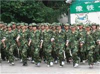 上海中学生军事训练夏令营\军事拓展夏令营——心智成长 磨练意志