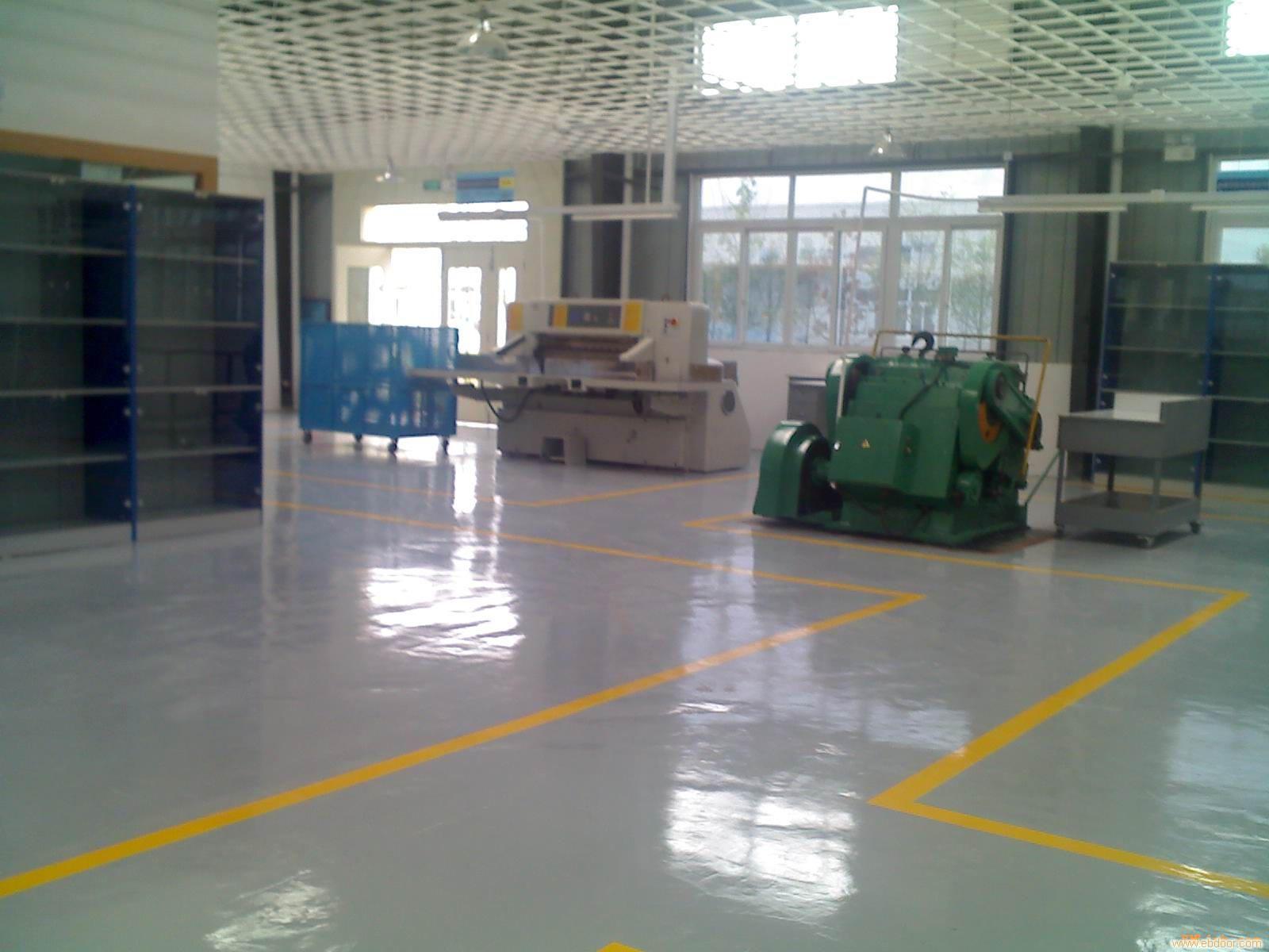 给上海增阳装饰工程有限公司的环氧树脂滚涂砂浆地坪