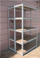 角钢木层板货架