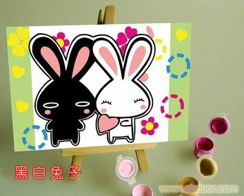 黑白兔子_相关信息_上海尘世三灵文化传播有限公司
