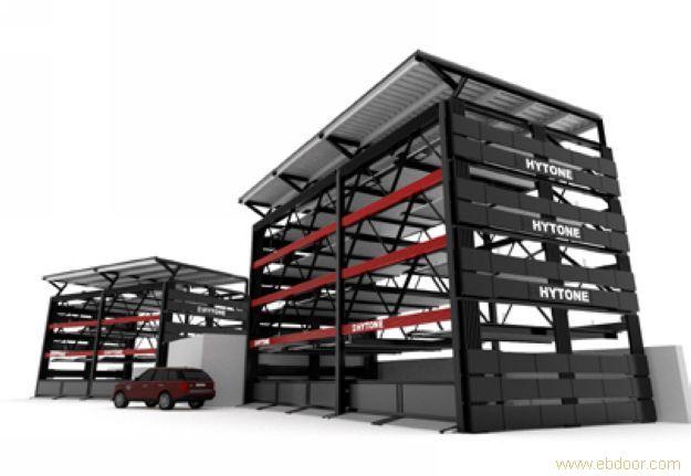 立体智能停车库价格_五层升降横移类立体车库