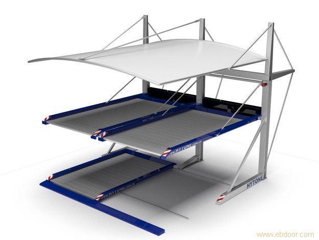 立体停车和交通设施 后悬臂简易升降车库