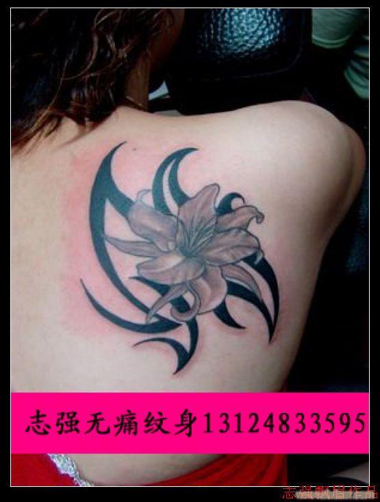 适合女人的纹身图案_相关信息 (555x733)图片