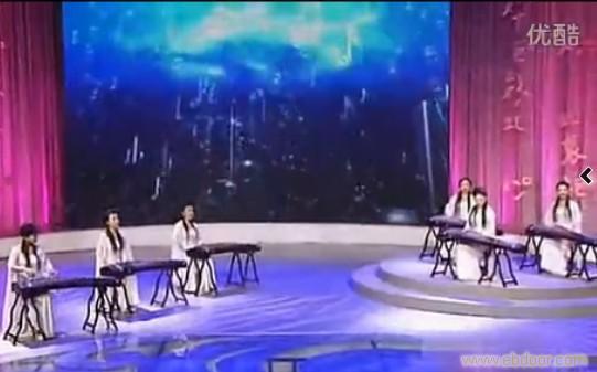 弥渡山歌古筝谱
