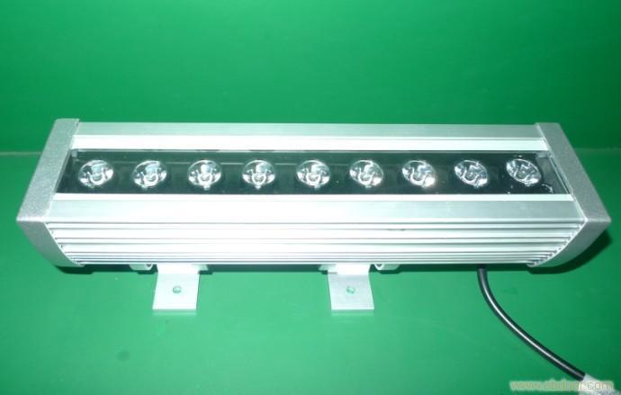 9颗大功率LED、9w大功率灯具、led洗墙灯、led大功率洗墙灯