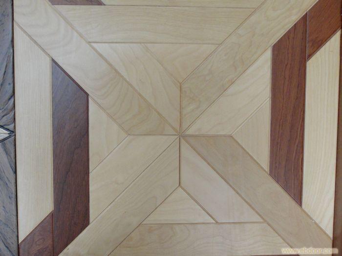 【橡木拼花实木复合地板】汇晶地板