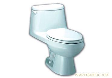 美标卫浴/迈阿密节水型加长连体座厕