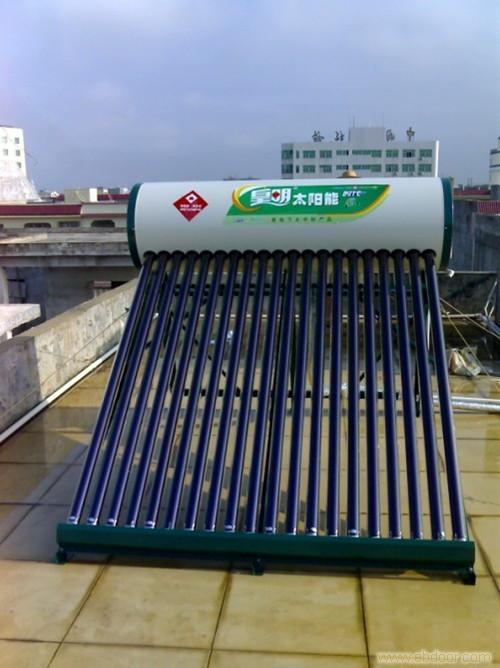 湖南长沙太阳能热水工程