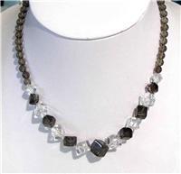 天然水晶项链(070694)