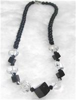 天然水晶项链(070695)