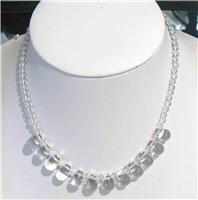 天然水晶项链(070698)