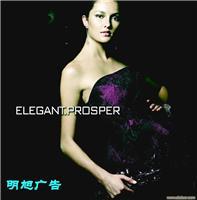 上海精密广告喷绘、化妆品广告设计、现场喷绘写真