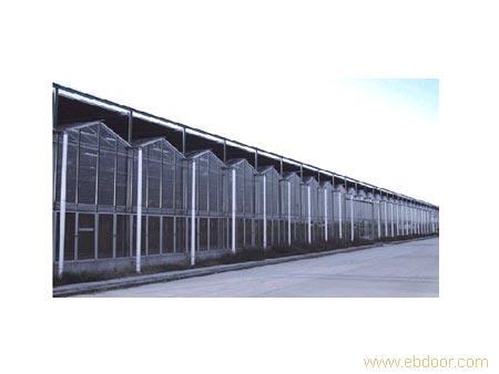 V型智能玻璃温室-上海玻璃温室设备-上海玻璃温室搭建-上海温室工程