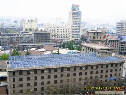长沙皇明太阳能热水器