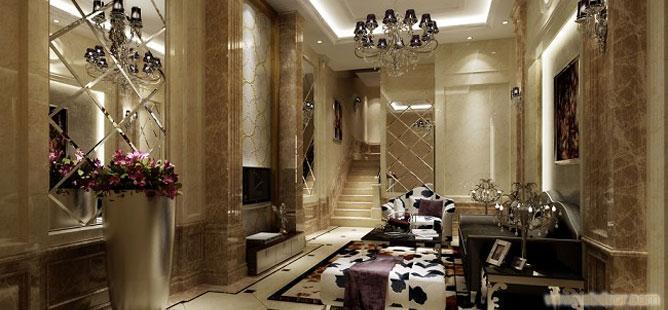 上海别墅装修设计-上海别墅装潢设计
