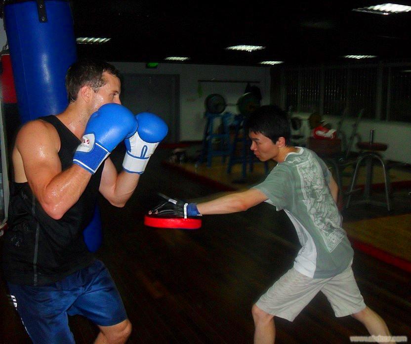 南京学拳击