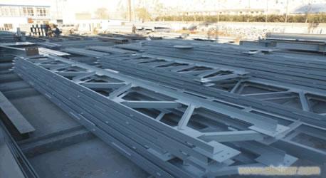 郑州某网架钢结构施工方案