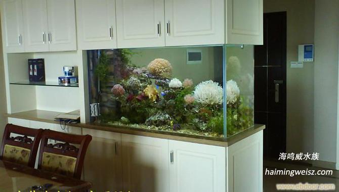 客厅鱼缸隔断效果图高清图片