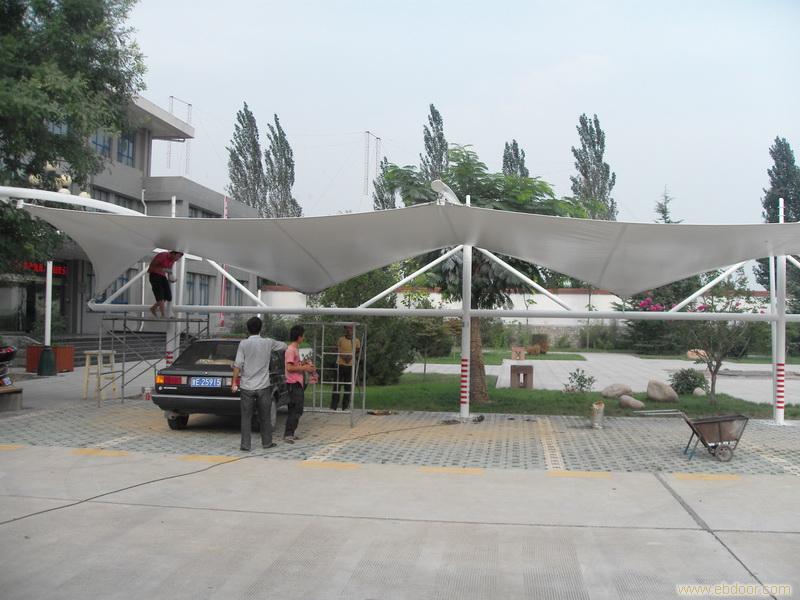 膜结构 膜结构车棚 建筑膜 展会帐篷加工 制作及安装 免费上门测量