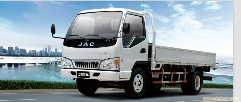 江淮JAC厢式货车的尺寸高清图片