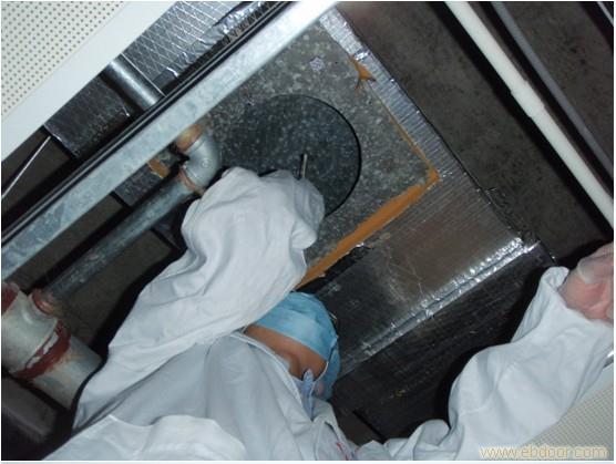2011年上海市疾病预防控制中心风管清洗消毒工程
