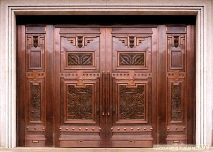 专业铜门制作