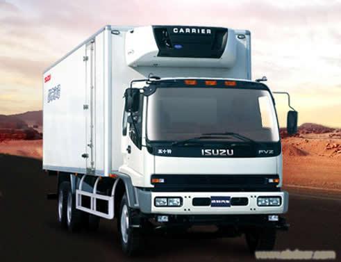详细说明 五十铃fvz重型冷藏车-上海五十铃4s店 庆铃类型: 多用途货车