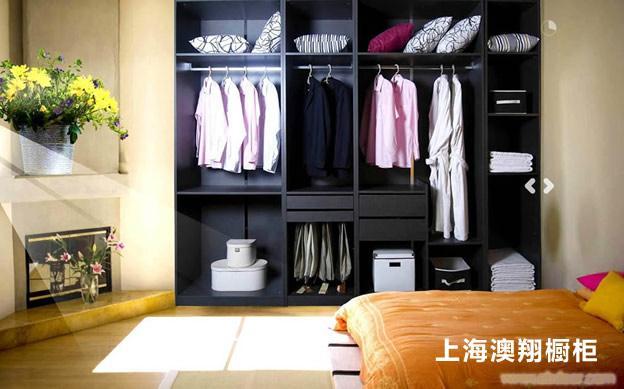 衣柜 E1级三聚氢氨刨花板 整体衣柜定做