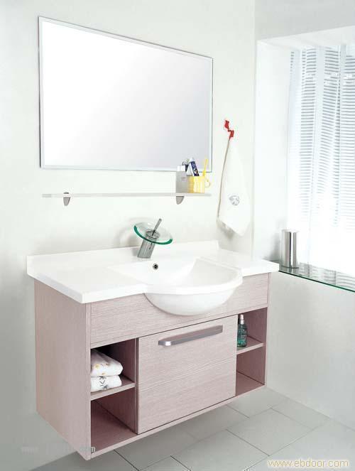 双面门板E1级三聚氢氨刨花板 -上海浴柜厂
