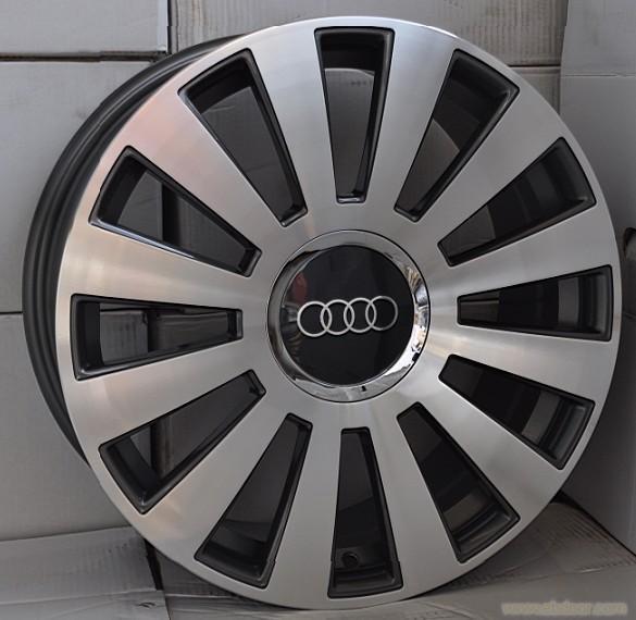 16寸17寸18寸19寸奥迪大众汽车轮毂迈腾途安帕萨特a4a高清图片