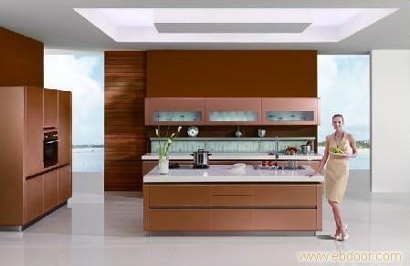 钢琴烤漆门板E1级刨花板箱体_上海定制橱柜.