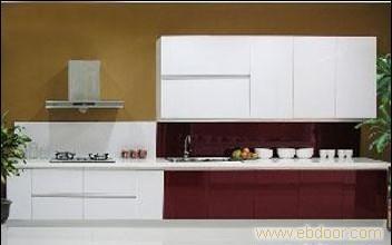 玻璃门板E1级刨花板箱体  上海定制橱柜公司